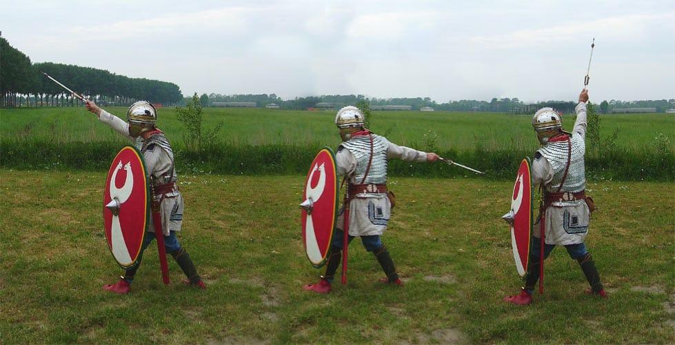 Armamento de las Legiones Romanas: Lanzamiento de Plumbata