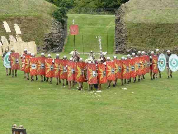 Formaciones y Tácticas del Imperio Romano: Formación Anti-Caballería