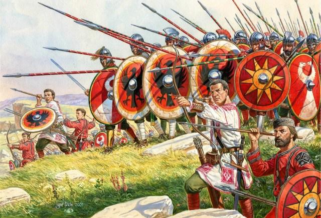Armamento de las Legiones Romanas, Verutum