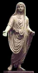 El Culto privado en Roma, Genio Romano de Ponte Puñide