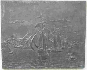María Pita,La llegada de la flota inglesa