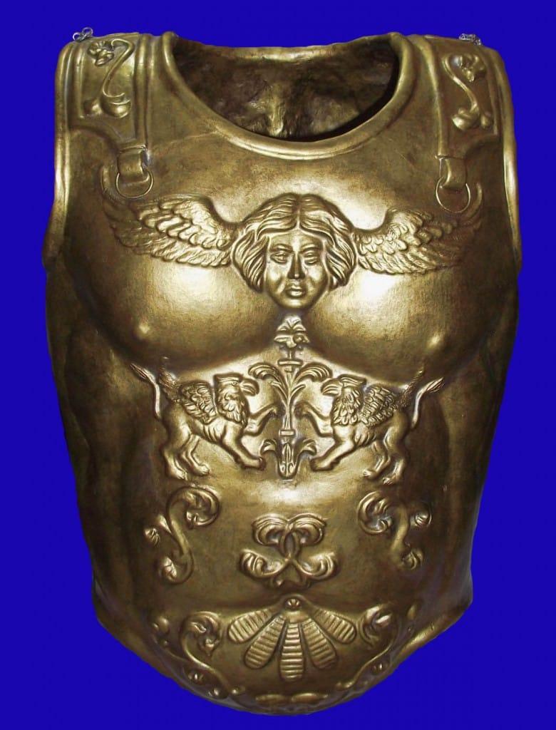 Armamento de las Legiones Romanas: escudos y armaduras, Lorica Musculata