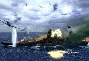 La Campaña de Okinawa, El fin del Acorazado Yamato