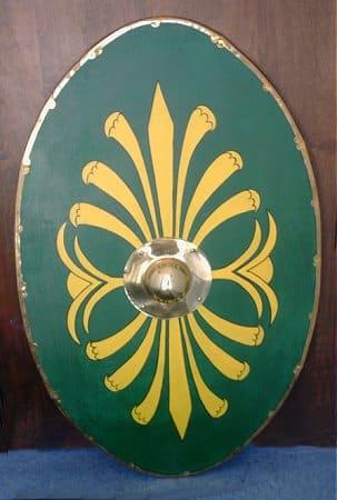 Armamento de las Legiones Romanas: escudos y armaduras, Clipeus