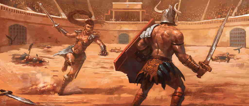 Gladiadoras, entre el escándalo y lo erótico