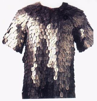 Armamento de las Legiones Romanas: escudos y armaduras, Lorica Plumata