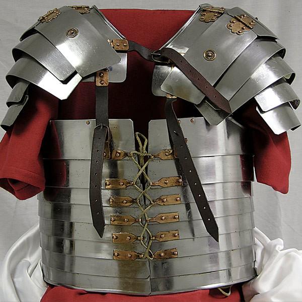 Armamento de las Legiones Romanas: escudos y armaduras, Lorica Segmentata
