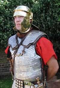 Armamento de las Legiones Romanas: escudos y armaduras, Lorica Squamata