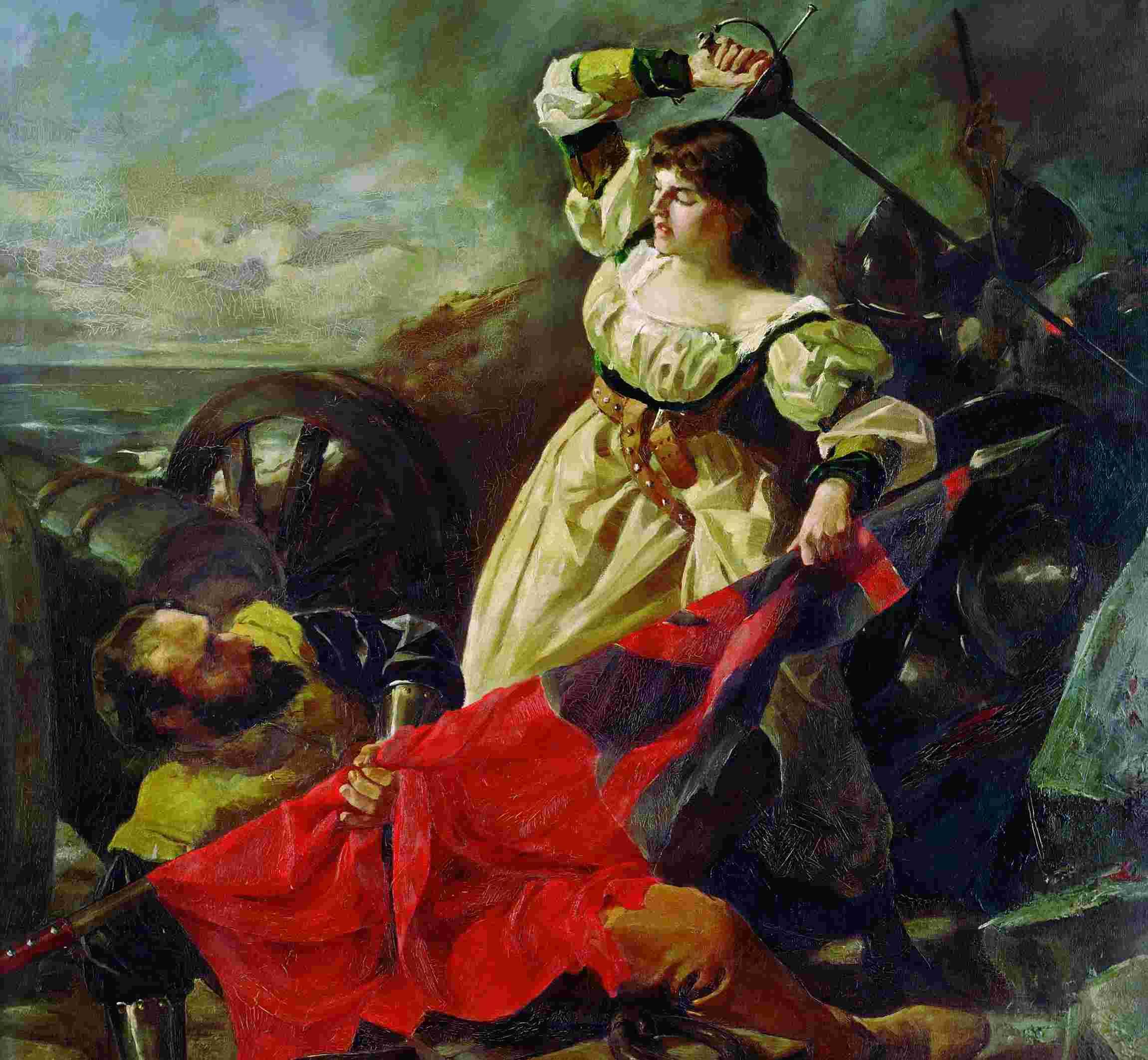 María Pita, la coruñesa que se enfrentó al pirata Drake