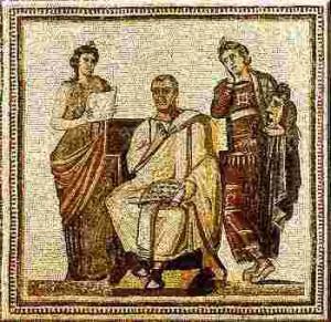 El Culto privado en Roma, Pater familias