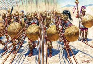 El ejército macedonio. La creación de Filipo II. Pezhetarioi