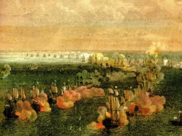 Blas de Lezo y la batalla de Vélez-Málaga