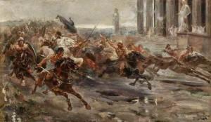 El ocaso del Imperio Romano