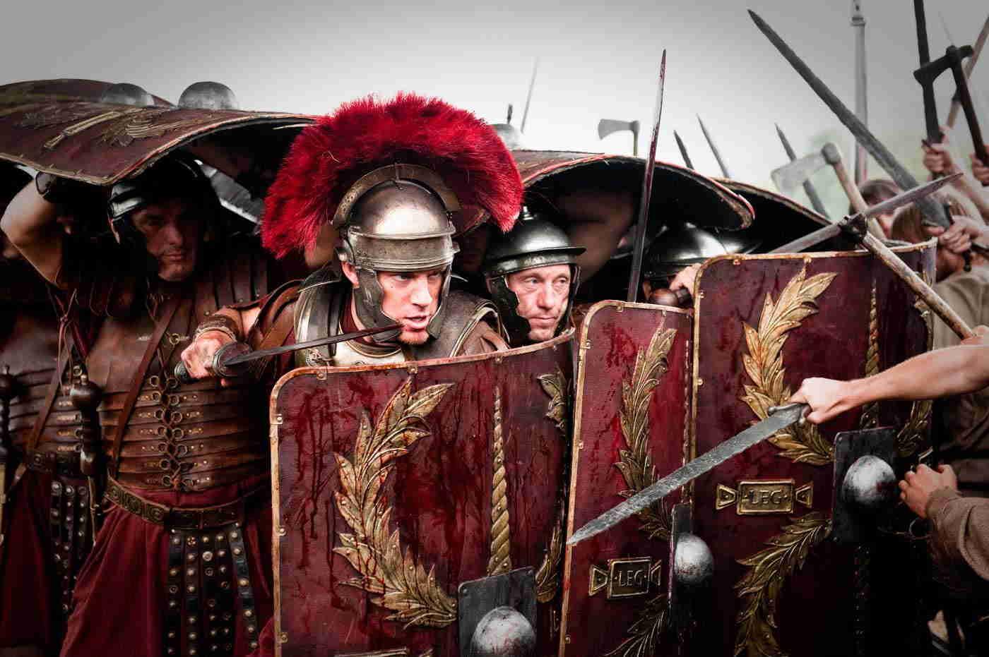 Principales armas cuerpo a cuerpo romanas, Armamento de las Legiones Romanas (Parte V)