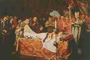 La muerte de El Príncipe de Viana