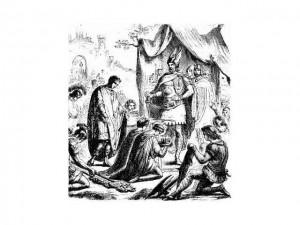El ocaso del Imperio Romano. Rómulo abdica ante Odoacro
