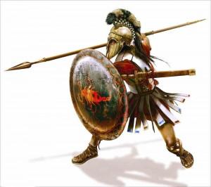 El hoplita ateniense