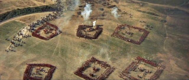 Waterloo, el ocaso de un Imperio, Cuadros de infantería británica