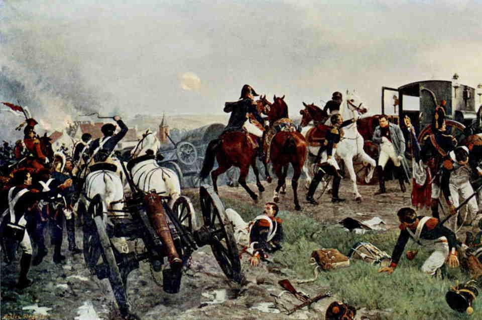 Waterloo, el ocaso de un Imperio, Retirada francesa