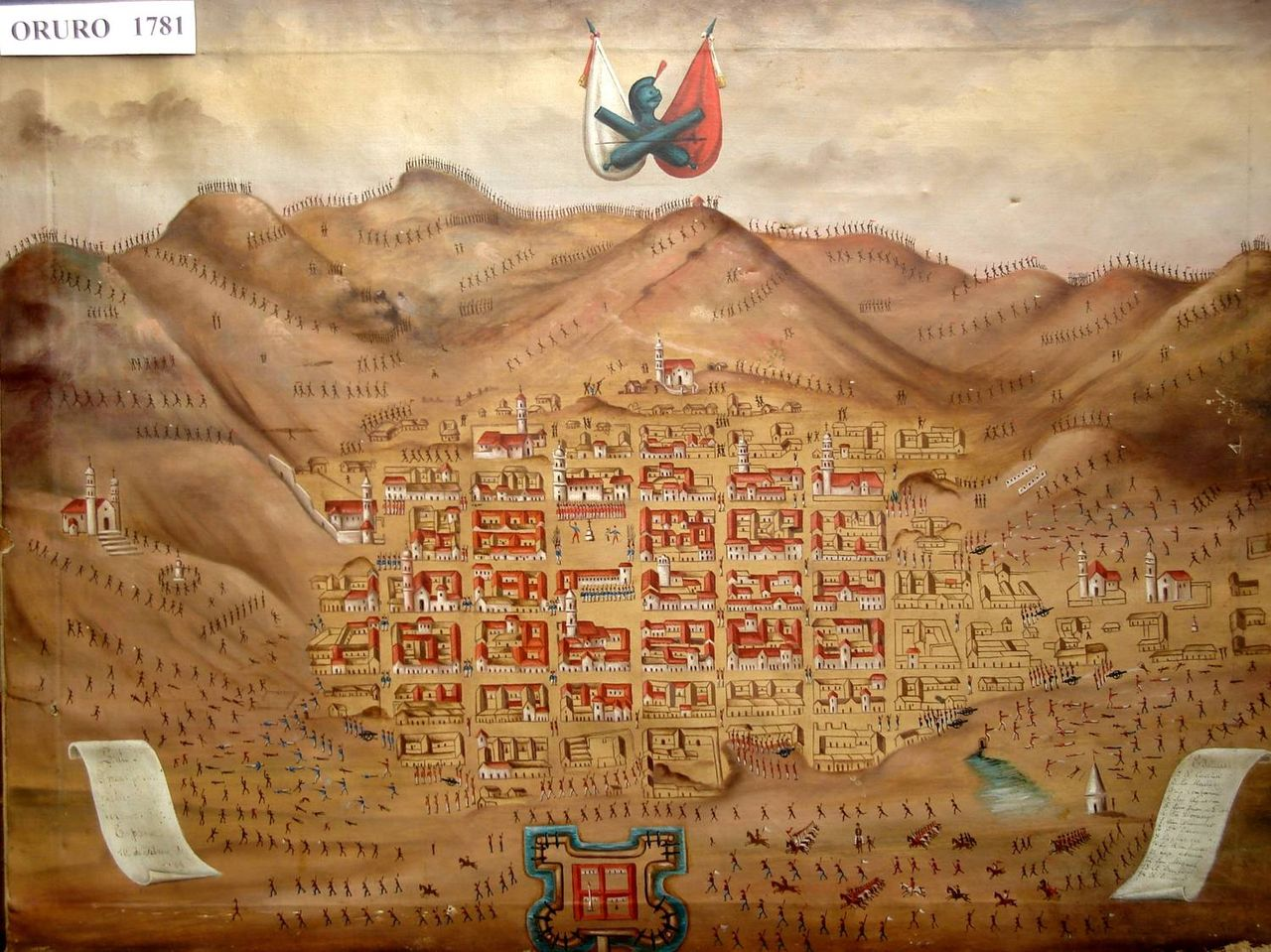 La Rebelión contra España de los criollos de Oruro y la emancipación de Argentina