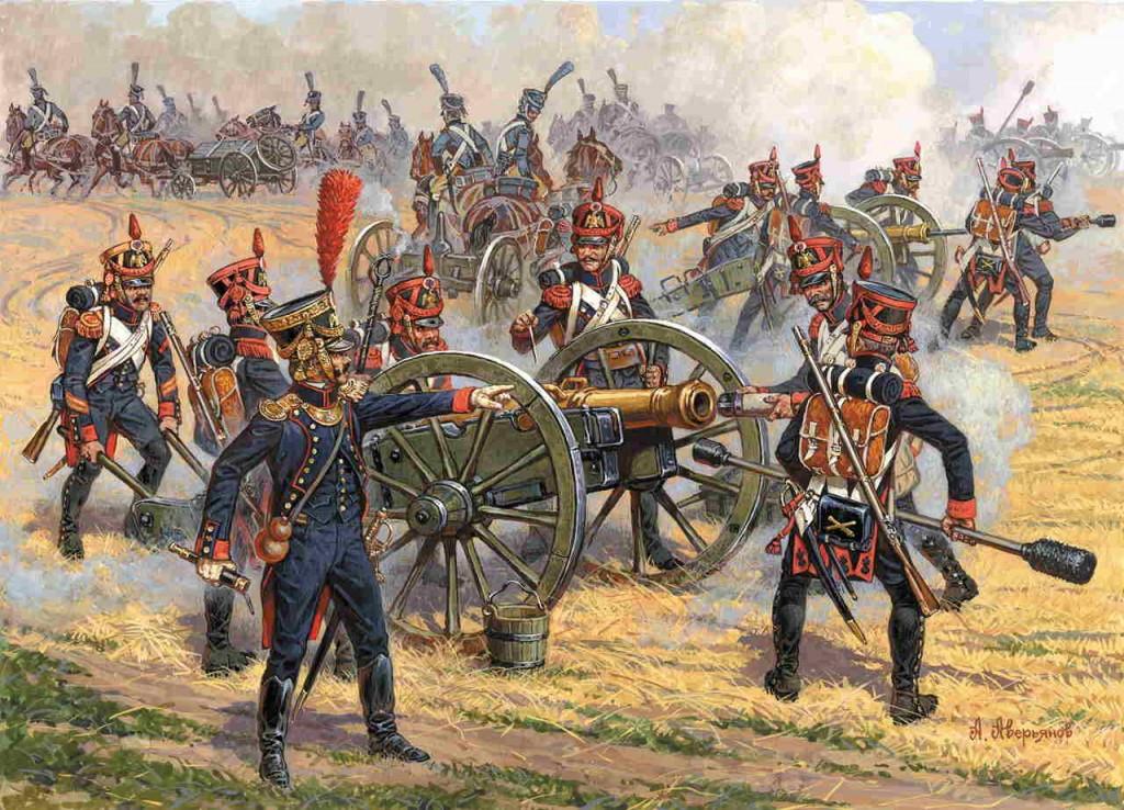 Waterloo, el ocaso de un Imperio, Artillería francesa