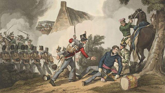 Waterloo, el ocaso de un Imperio, Muerte de Picton