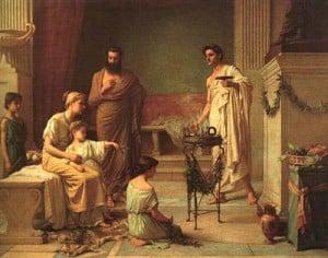 Educación en la Roma arcaica y republicana