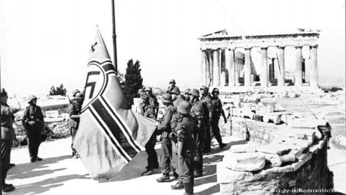 El heroismo de los griegos ante Alemania