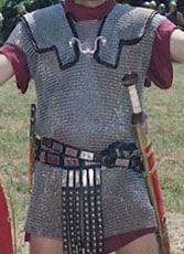 Armamento de un Legionario Romano, Cota de malla