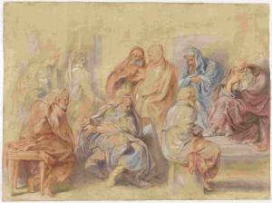 Los 7 sabios de Grecia, por Rubens