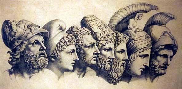Los 7 sabios de Grecia