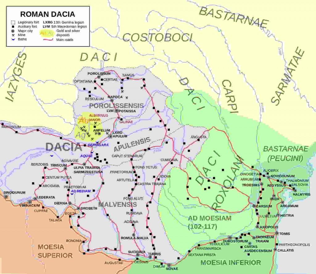 La Provincia Romana de Dacia