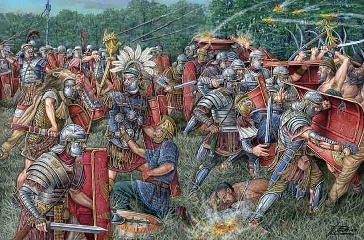 Batalla de Tapae, Romanos contra Dacios