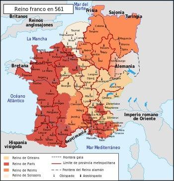 Los francos, de Clodoveo al último merovingio