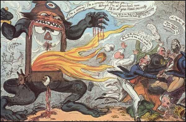 Robespierre y el Terror Jacobino