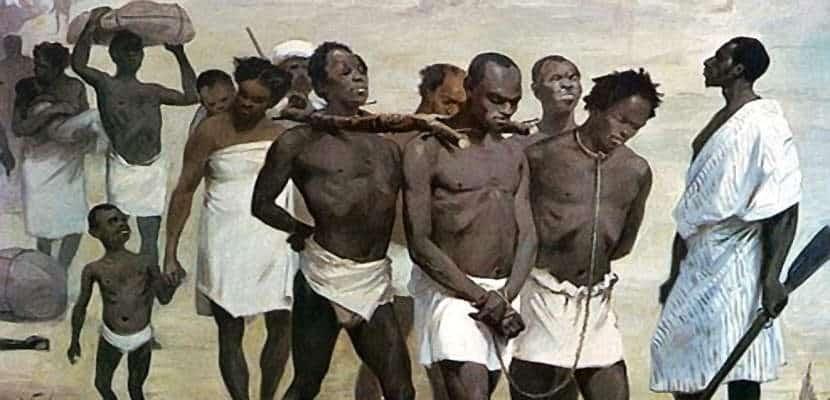 Foto de esclavos sexuales
