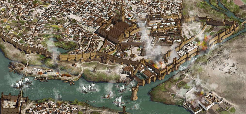 La reconquista de Sevilla