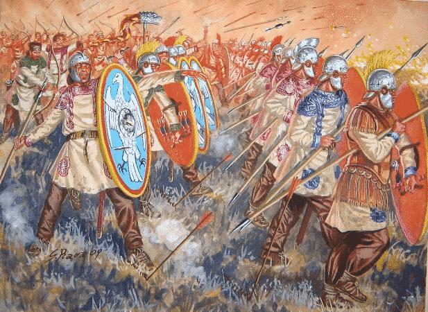 La batalla de Adrianópolis, desastre romano