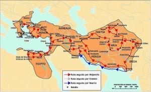 Alejandro y la conquista de la India