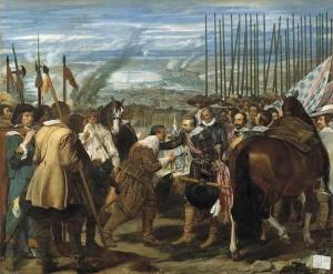 Velázquez La rendición de Breda