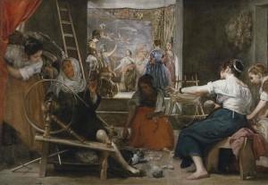Velázquez Las hilanderas