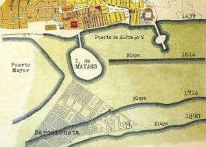 Barcino isla de Maians