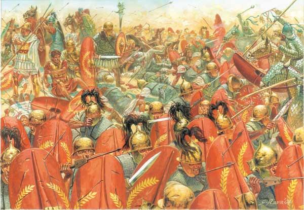 Partia y Roma: la batalla de Carras