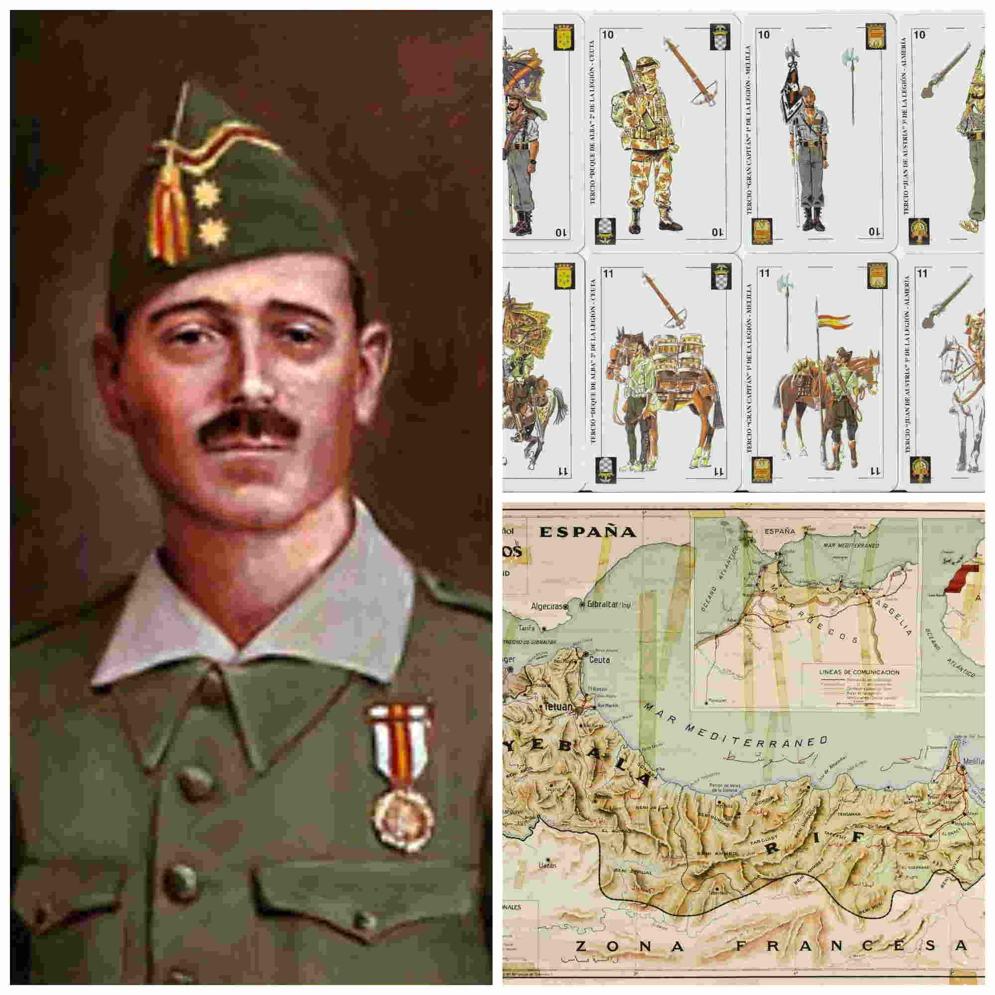 José Millán Astray, fundador de la Legión