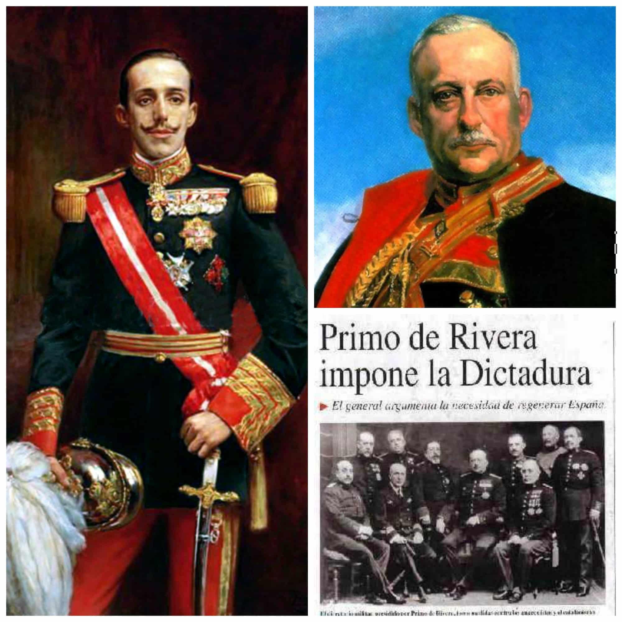 El final de la dictadura de Primo de Rivera y la caída de Alfonso XIII