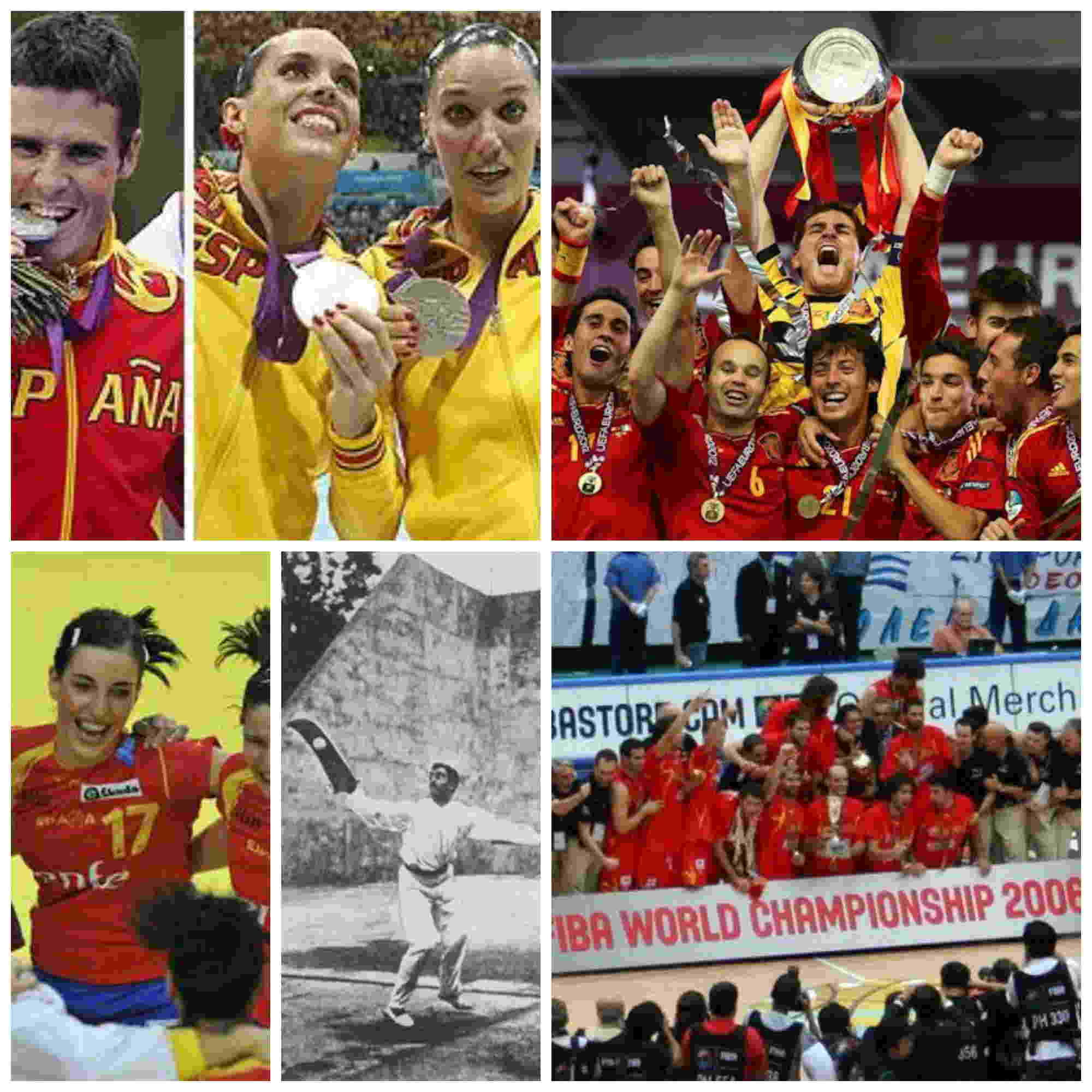 Historia de los deportes en España