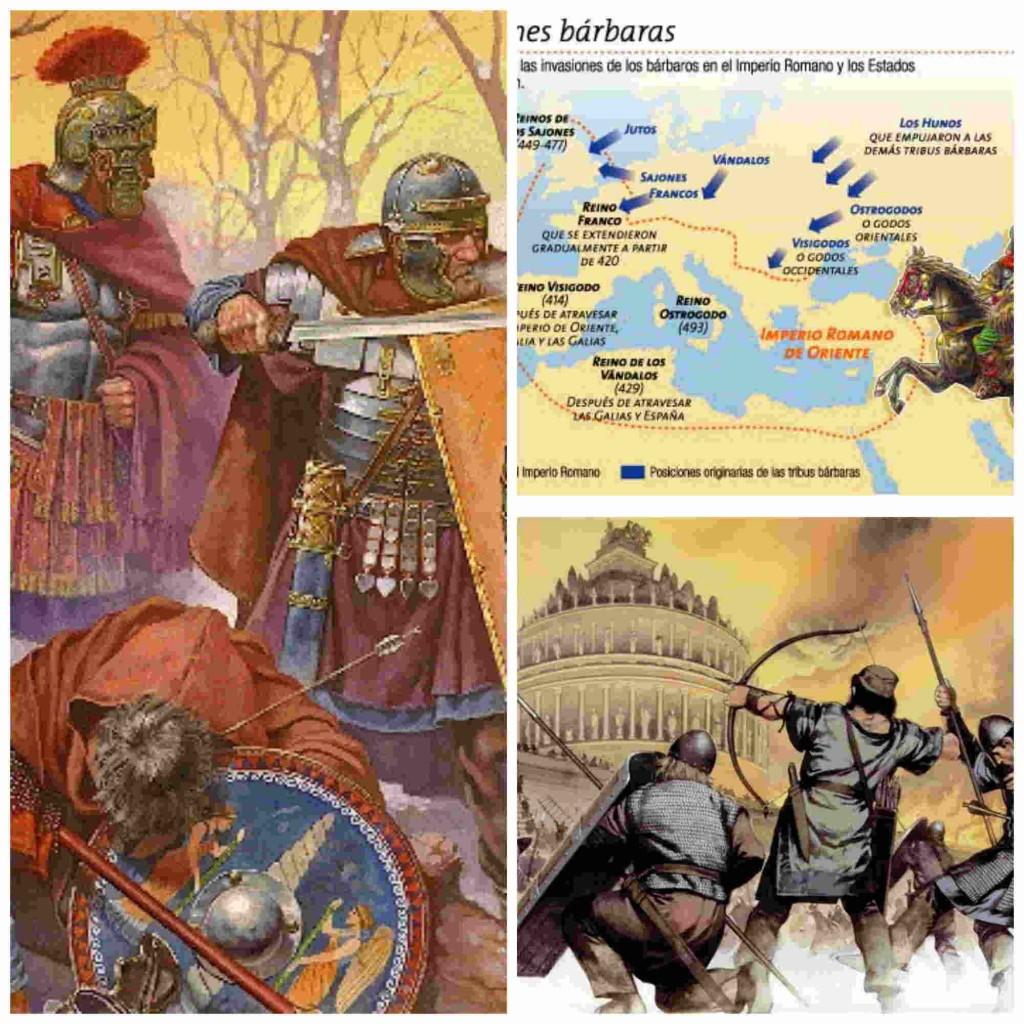 Las invasiones bárbaras y sus consecuencias artísticas