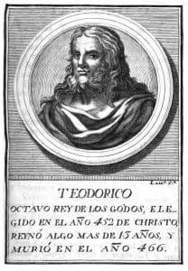 Imagen 3. Teodorico II , rey de los visigodos.