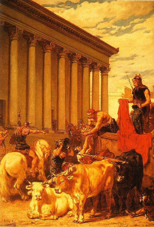 Alarico entra en Roma