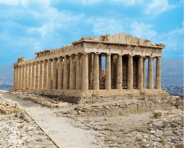 El Partenón, templo, iglesia, catedral y mezquita